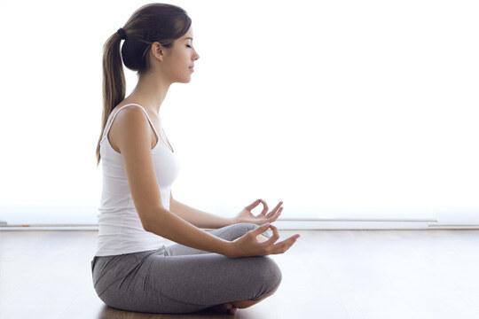 Večerní jóga