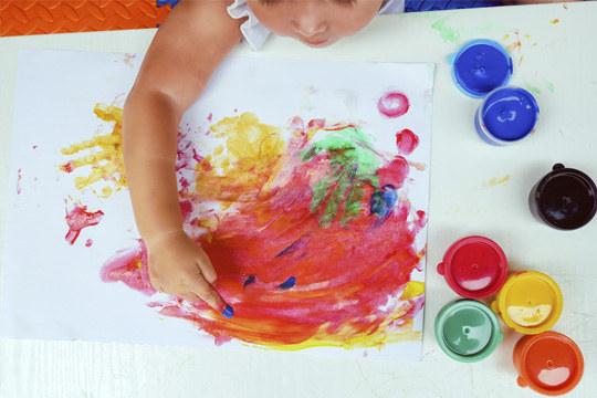 Nový kurz pro děti malovaná dílnička